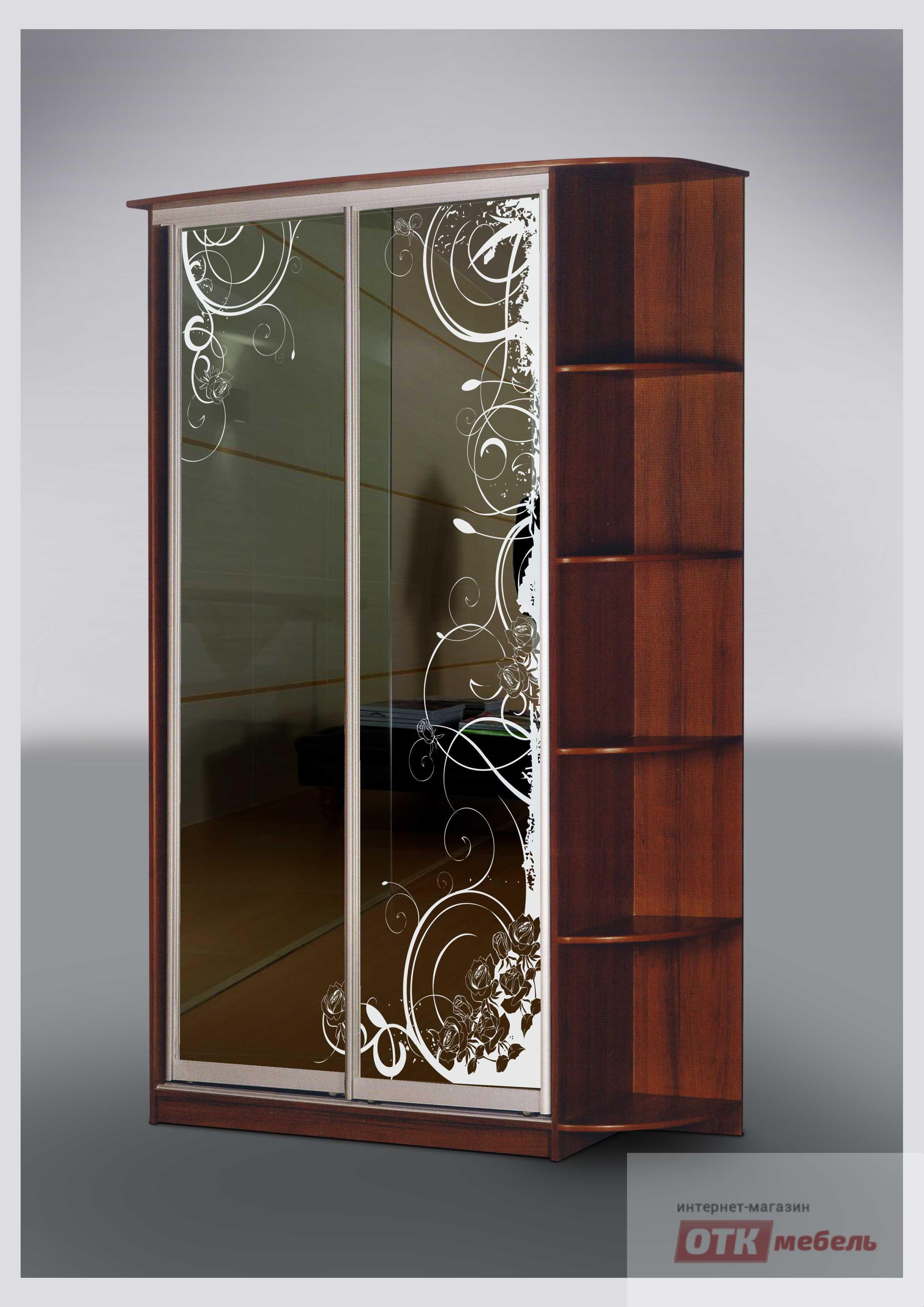 """Шкаф-купе """"стиль 2-34"""" шкафы-купе корпусная мебель 4meb.ru."""