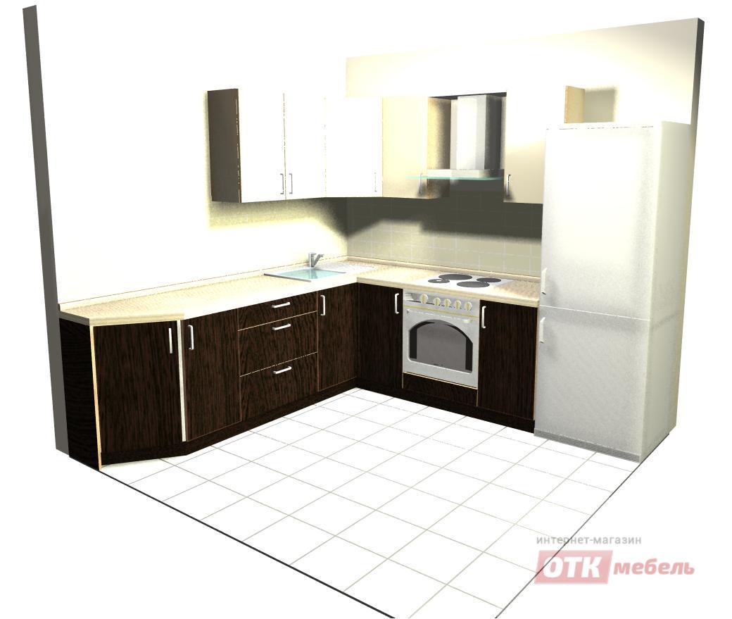 Угловые кухни 1600х1200 кухня мебель на заказ ингушетии