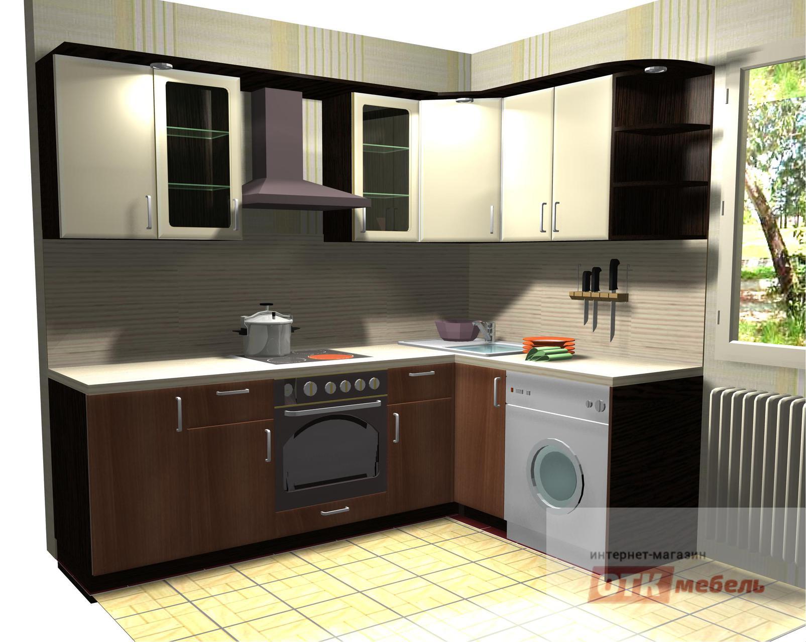 Угловые кухни 1700 1300 недорогие кухни в деревню
