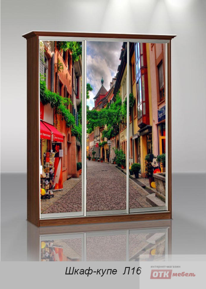 Шкафы-купе с фотопечатью - шкаф-купе легенда-6 осирис-мебель.